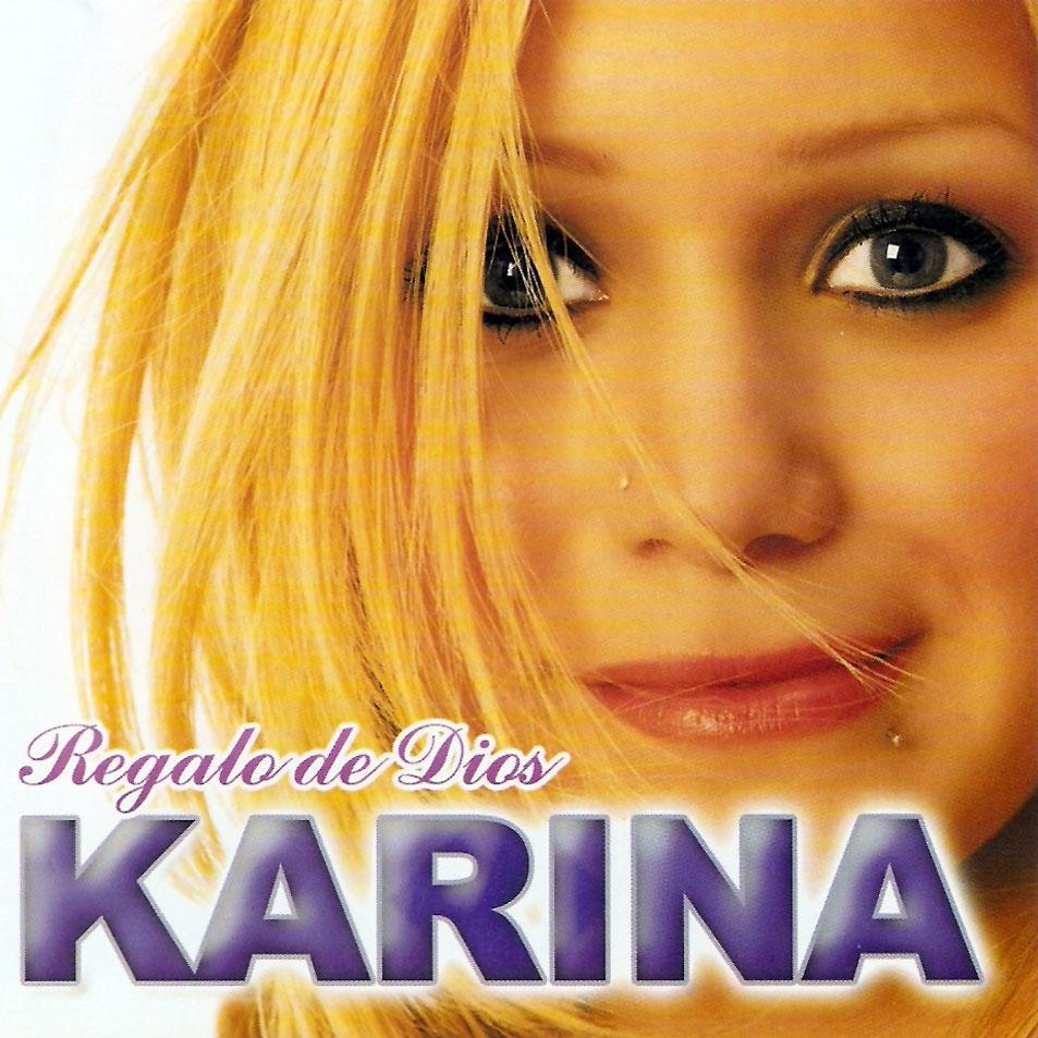 letra de karina te quiero: